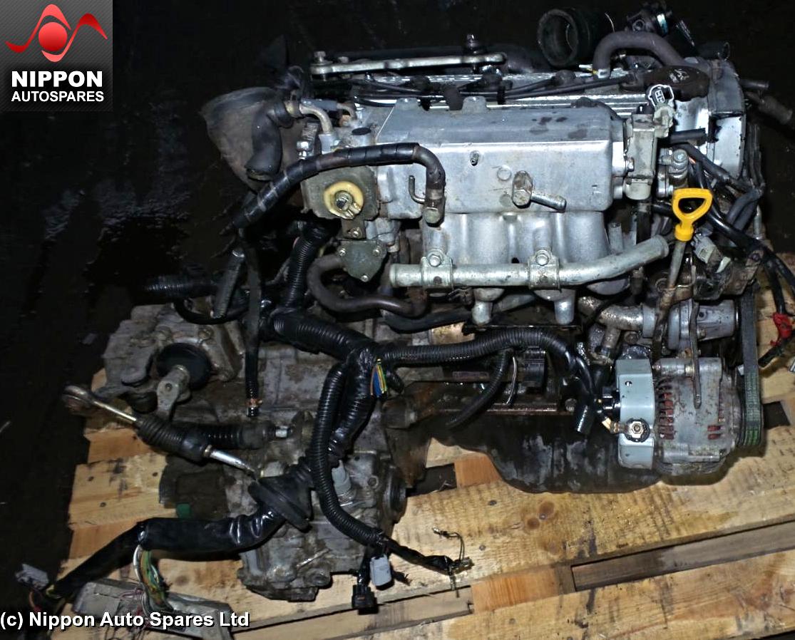 TOYOTA STARLET GLANZA STARLET GT 1 3 TURBO 4E-FTE ENGINE KIT